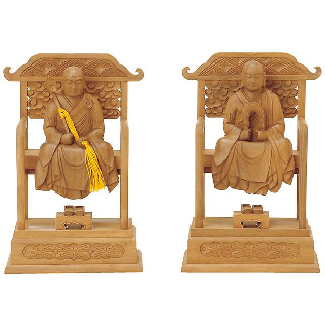 仏像『白檀 太祖・高祖 2.5寸』[曹洞宗]