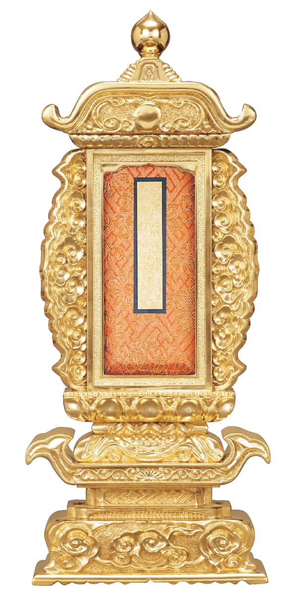 【全品ポイント10倍】位牌【過去帳回出位牌】前金 袖付 筆返過去帳回 6.0寸【送料無料】[漆塗り位牌][札位牌][回出位牌][繰り出し位牌][繰出し位牌][くりだし位牌][法名][過去帳位牌][6寸][6.0号][6号]