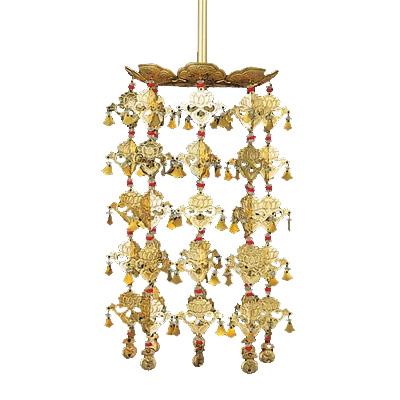 高品質の珱珞が送料無料 真鍮院玄 八葉型 割引も実施中 珱珞 1対 3段 3.5 金色 絶品