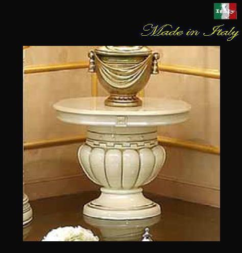 イタリア製 サイドテーブル 花台 10P27May16