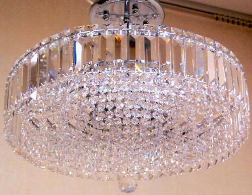 【照明】高級エジプトクリスタルシャンデリア 8灯シルバー 10P27May16