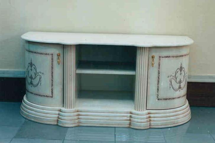【イタリア製家具】テレビ台 サイドボードテーブル /家具 収納 10P27May16