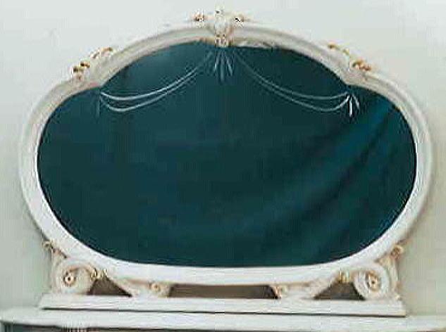 【イタリア製家具】 ウォールミラー 壁掛け鏡ドレッサー/家具 収納 10P27May16