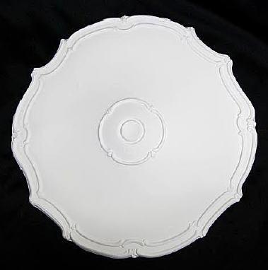 【天井装飾】【メダリオン】【シーリングオーナメント】φ482 ホワイト 白 シャンデリア装飾 10P27May16