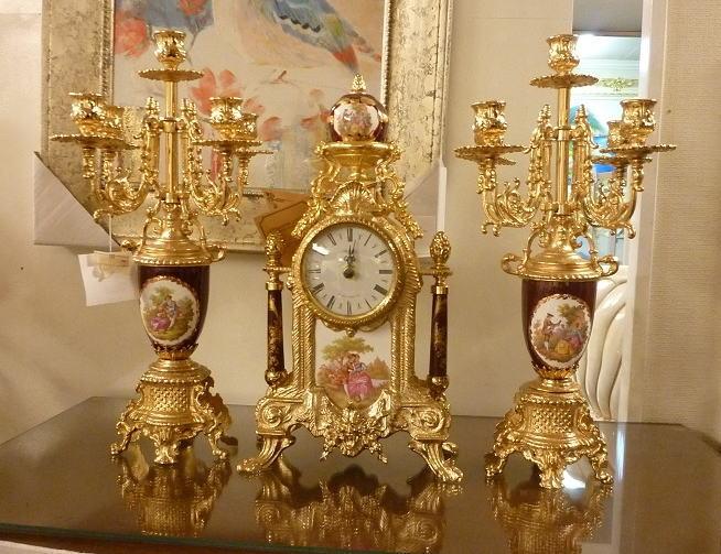 置時計 イタリア製 時計 置物
