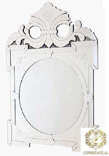 ウォールミラー  80X115 ガラス家具カリーナ2シリーズ 10P27May16