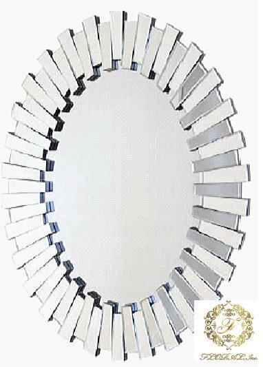 ウォールミラー  80X100 ガラス家具カリーナ2シリーズ 10P27May16