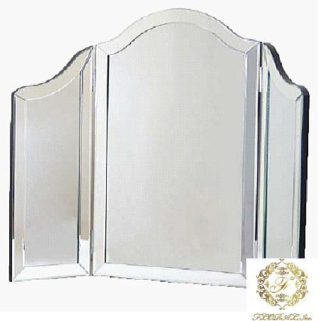 ウォールミラー  100X78 ガラス家具カリーナ2シリーズ 10P27May16