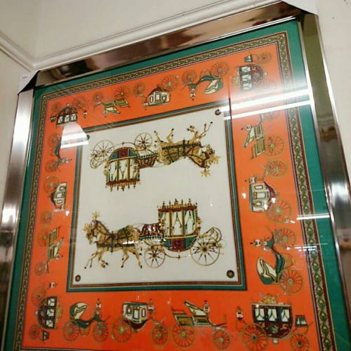 額縁 絵画 アートフレーム 額絵(シルク地)106.5*106.5 11kg