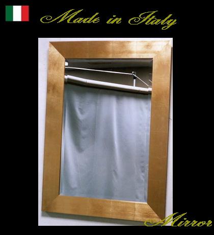 【代引不可】イタリア製ミラー ウォールミラー 89×124 10P27May16