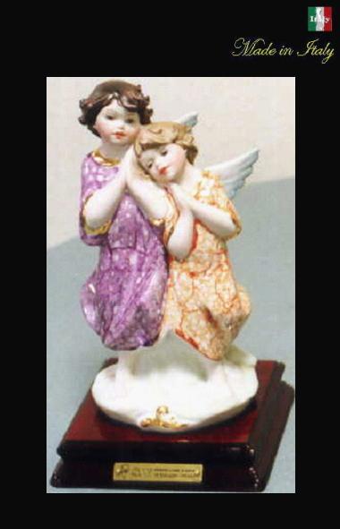 置き物 幸せエンジェル イタリア製ハイクラスインテリア 天使 プレゼント 10P27May16