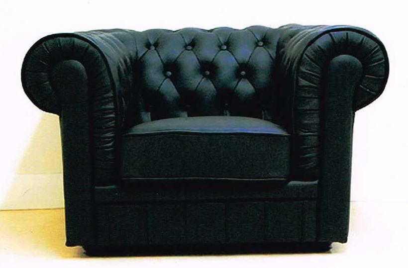 【イタリア本革仕様】アームチェア 一人用ソファ一家具 10P27May16