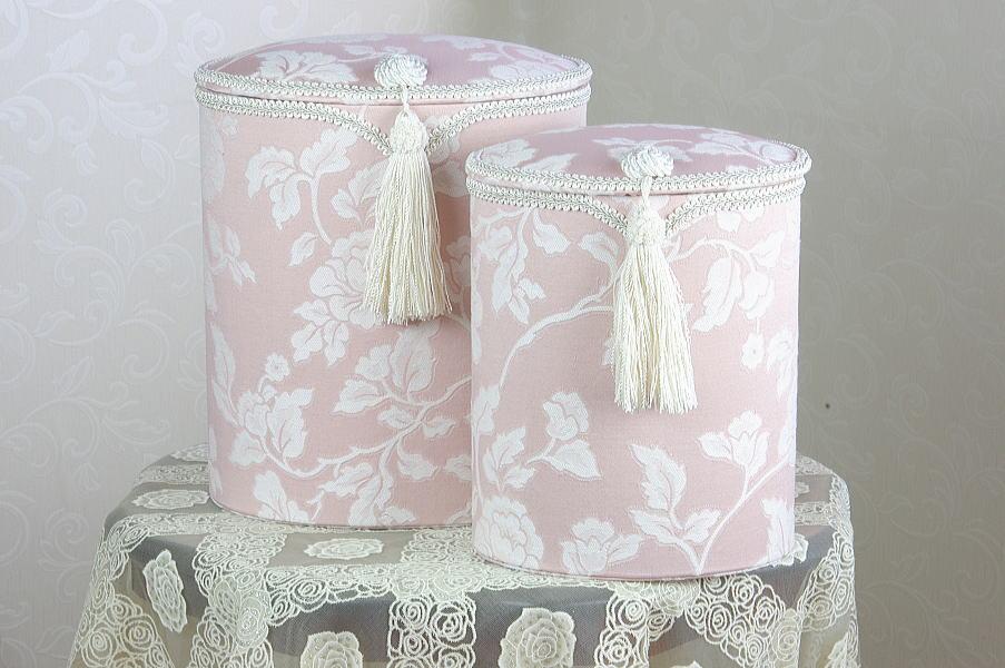 【ジェニファーテイラーhearroom-pink】ダストボックス2個セット 10P27May16