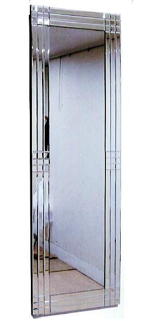 ウォールミラー壁掛け鏡  48X148 ガラス家具カリーナ2シリーズ 10P27May16