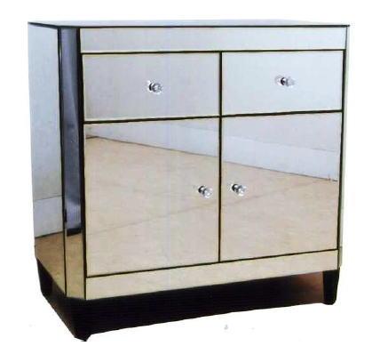 ミラーサイドボード ドレッサーテーブル ガラス家具カリーナ2シリーズ 10P27May16