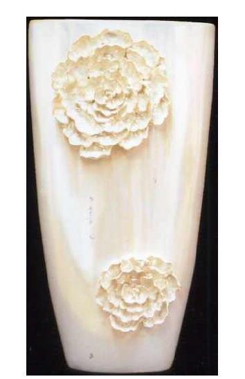 【陶器製】傘立て 花瓶 陶器 ホワイト 10P27May16
