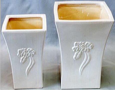 【イタリア製】傘立て 花瓶 陶器 2個セット 10P27May16