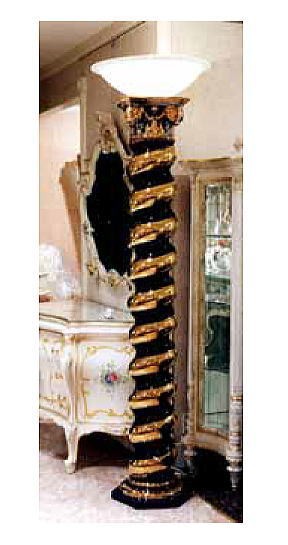 送料無料 フロアーランプ 照明 商い 正規認証品 新規格 イタリア アンティーク プレゼント 贈り物 置物 イタリア製 イタリア高級セラミック ランプ 10P27May16 smtb-s コラムランプ フロアースタンド