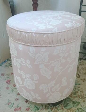 【ジェニファーテイラーhearroom-pink】丸型スツール ボックス付き 10P27May16