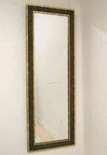 【代引不可】イタリア製壁掛けミラー ウォールミラー 角形 55×153 9kg 10P27May16