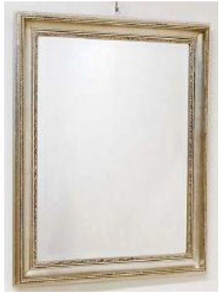 【代引不可】イタリア製壁掛けミラー ウォールミラー 角形 63×84 6kg 10P27May16