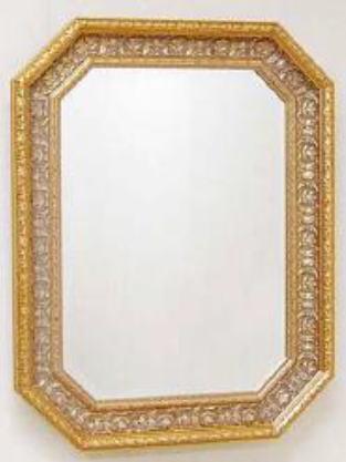 【代引不可】イタリア製壁掛けミラー ウォールミラー 角形 69×90 7kg 10P27May16
