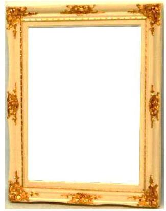 【代引不可】イタリア製壁掛けミラー ウォールミラー 角形 67×87 10P27May16