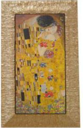 イタリア製アートフレーム クリムト 額絵 アート46×76 3kg 10P27May16