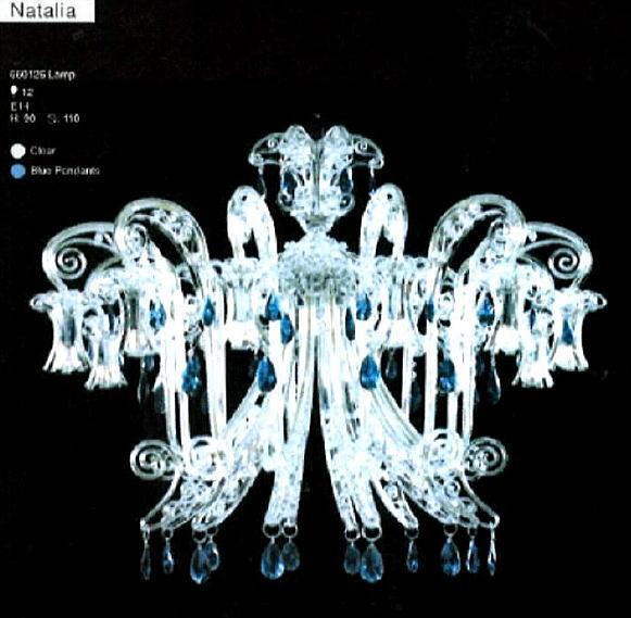 スペイン製 シャンデリア 12灯 イリスシリーズ 送料無料 10P27May16