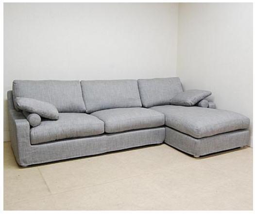 イタリア製 ソファー(ファブリック)コーナーリビングソファー イス 椅子 10P27May16