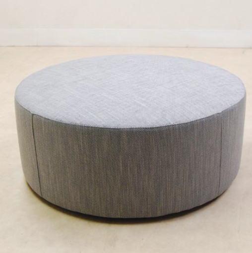 イタリア製 ソファー(ファブリック)ラウンドスツール イス 椅子 10P27May16