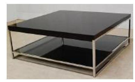 イタリア製 センターテーブル(ラグジュアリーモダン TORINOシリーズ) 10P27May16