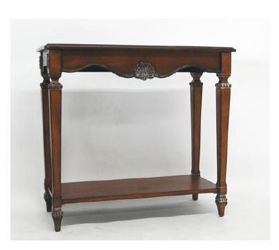 【送料無料】木製 コンソールテーブル 花台 10P27May16