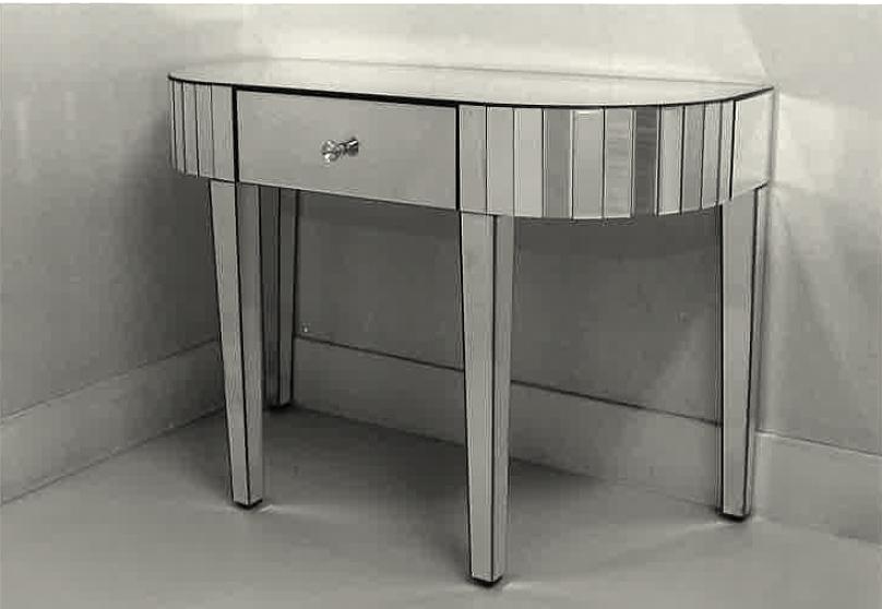 ミラーコンソール ガラス家具 ドレッサーテーブル