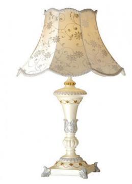樹脂製【高級テーブルランプ】LED電球対応 ラ・ローシュ 1灯 ホワイト【LED電球対応】【送料無料】 10P27May16