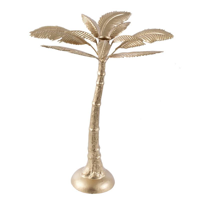 キャンドルスタンド キャンドルホルダー パームツリー ゴールド ロウソク立て 蝋燭立て