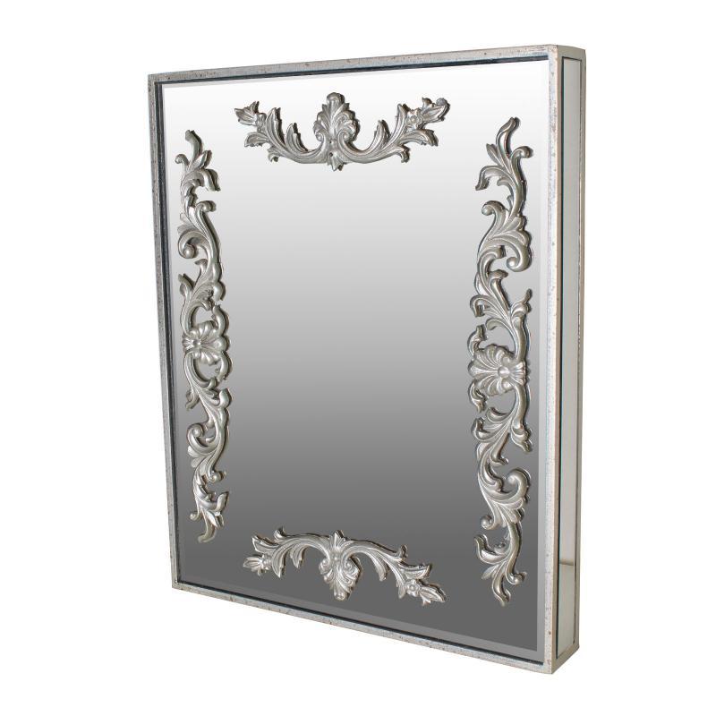 ミラー 鏡 壁掛け ウォールミラー アンティーク調 北欧 お洒落 アンティーク調