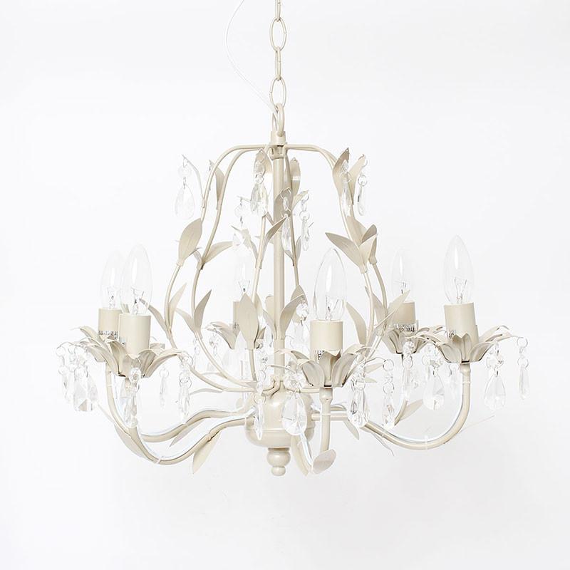 シャンデリア 6灯 ペンダントライト 照明器具 天井照明 インテリア アンティーク調