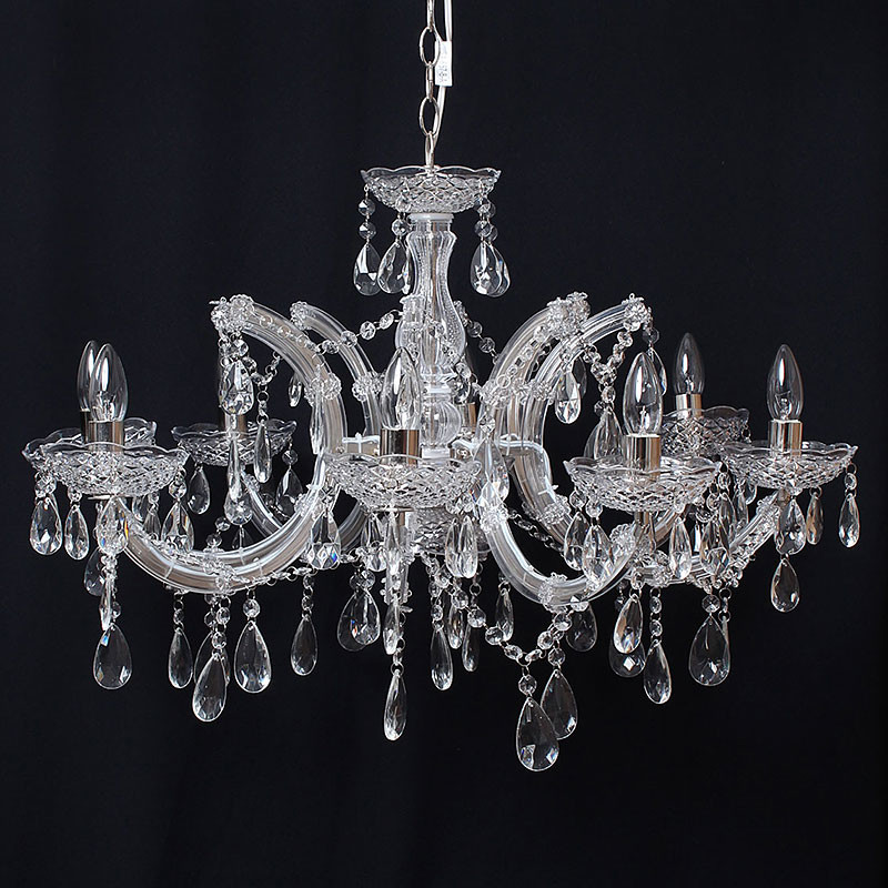 シャンデリア 8灯 ペンダントライト 照明器具 天井照明 インテリア
