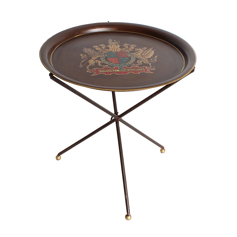 シノワズリ サイドテーブル ラウンドテーブル