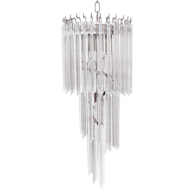 ガラスシャンデリア 4灯 ペンダントライト 照明器具 天井照明 お洒落 インテリア アンティーク調