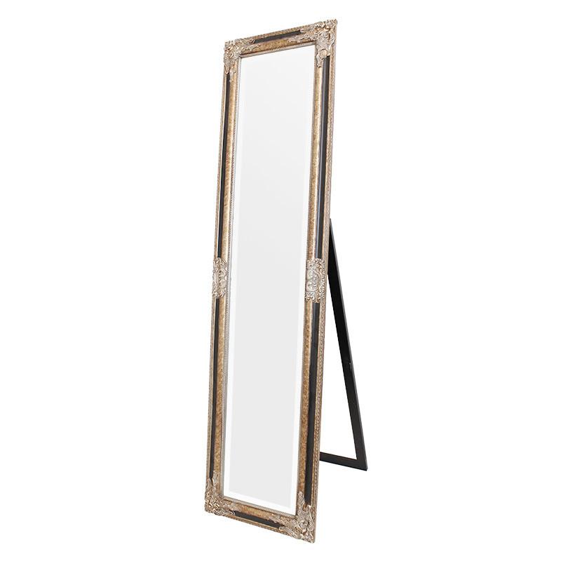 スタンドミラー ウォールミラー 2way 姿見 全身鏡 壁掛け鏡 アンティーク