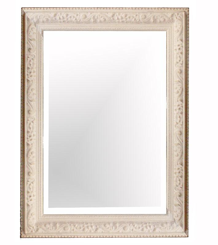 【送料無料】リボンモチーフ装飾,大型壁掛けミラー(角型)大型豪華装飾アンティーク調,シャビーシックな壁掛け鏡