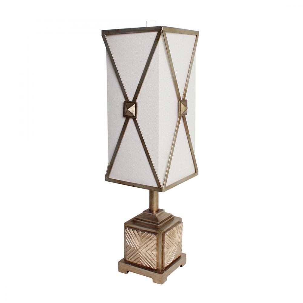 素敵なアイテムテーブルランプ アンティークゴールド