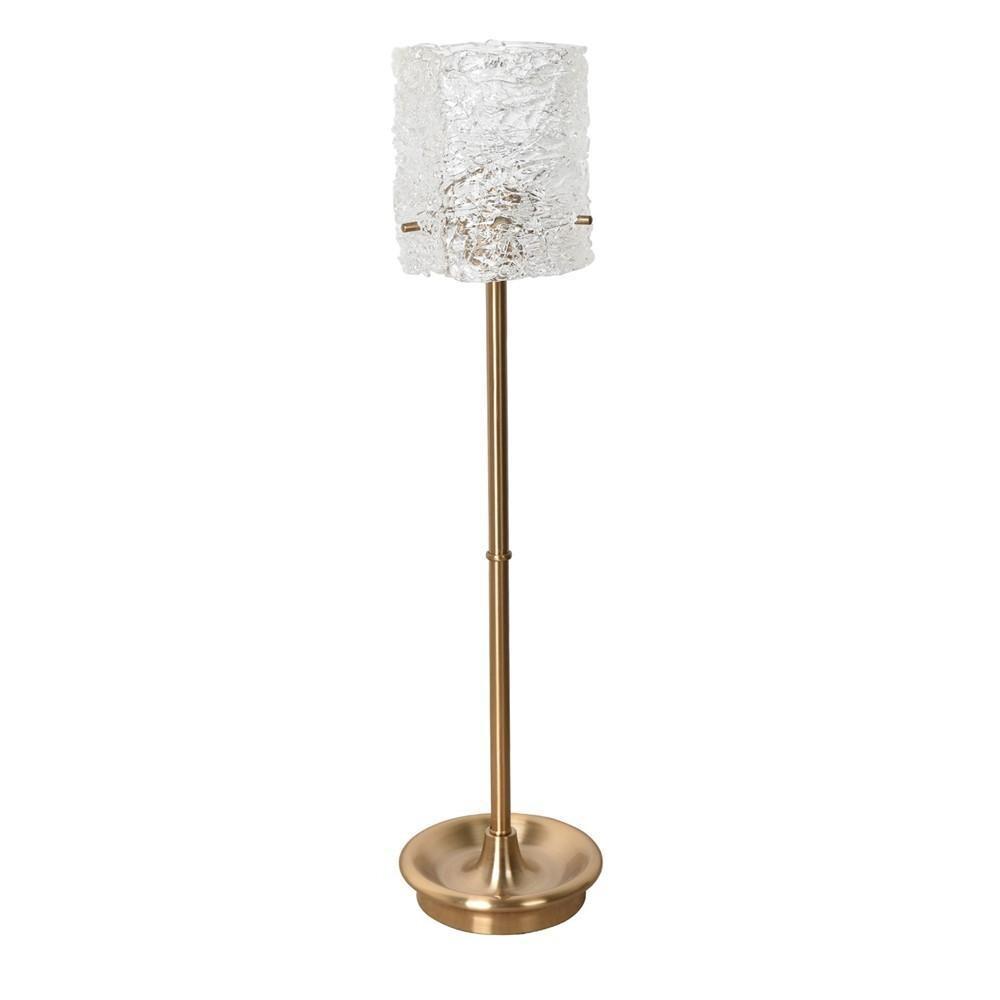 素敵なアイテムガラスシェードのテーブルランプ
