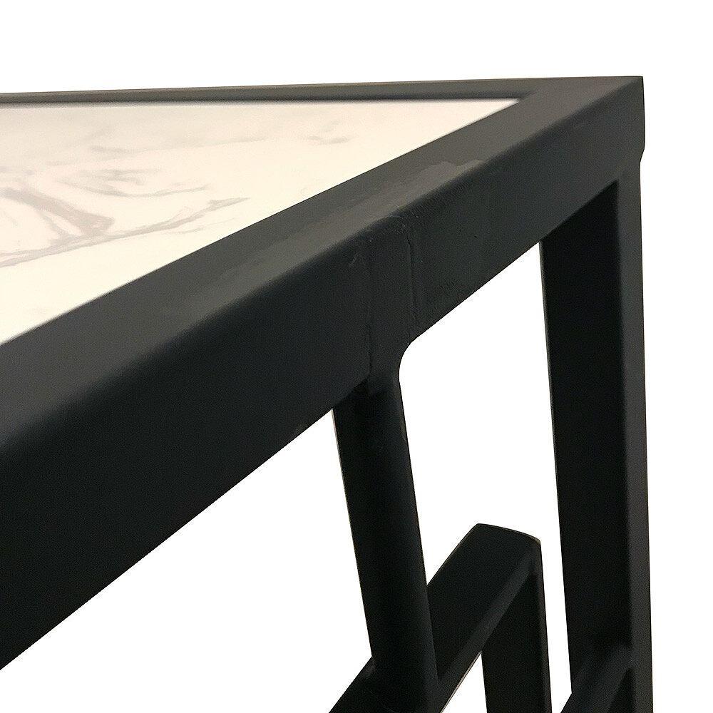 【素敵なアイテムです】大理石とアイアンのコンソールテーブル