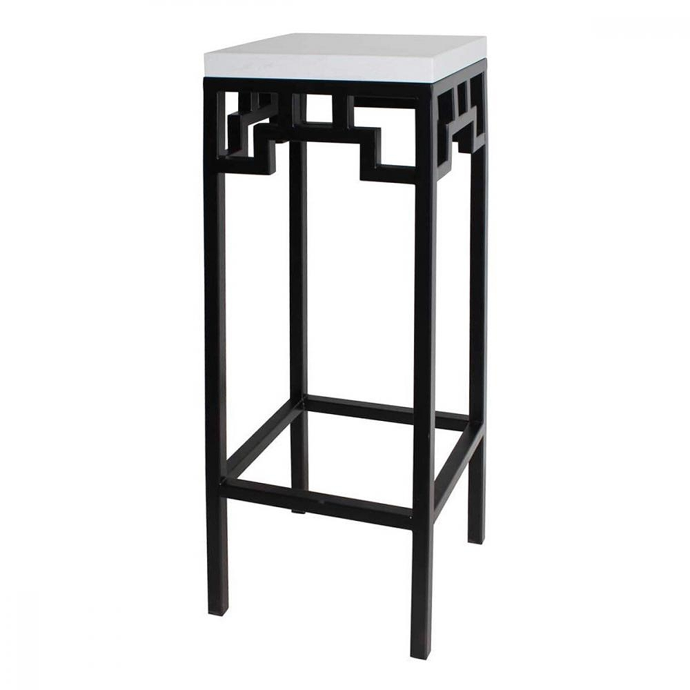 【素敵なアイテムです】大理石とアイアンのサイドテーブルS