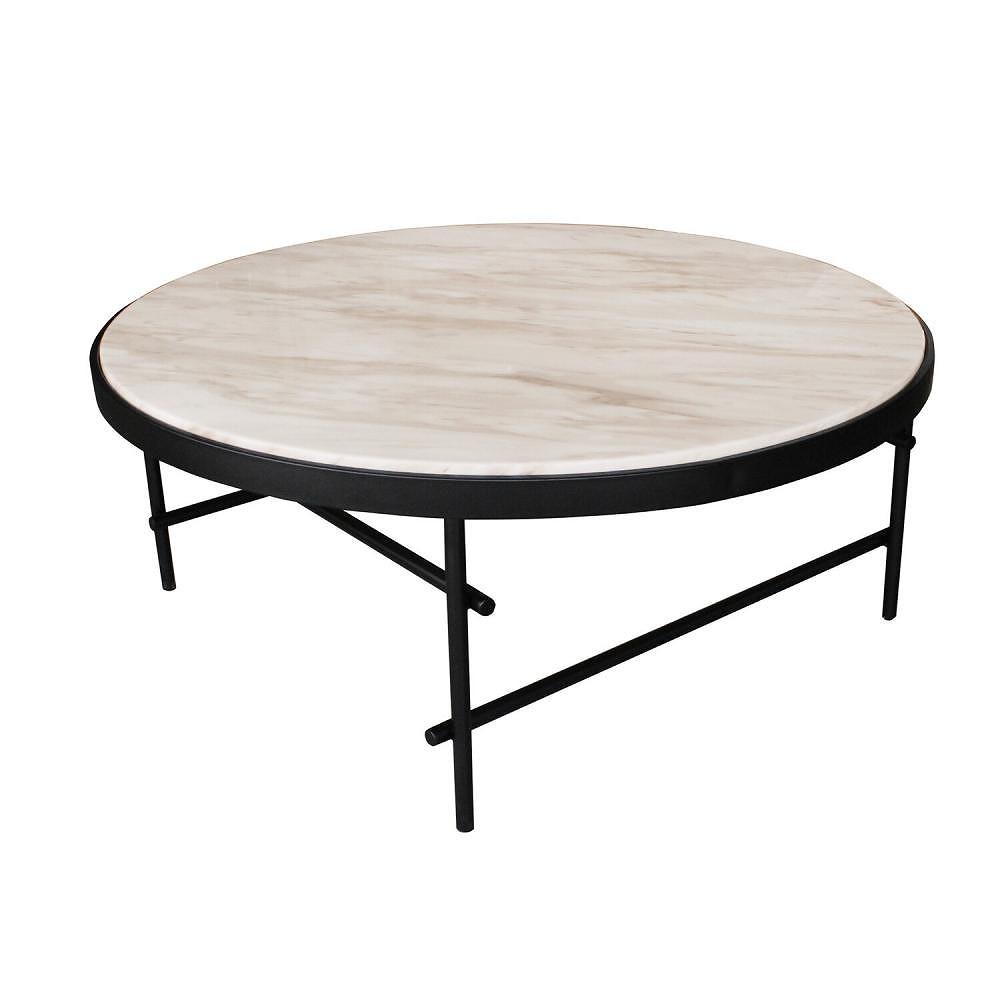 【素敵なアイテムです】大理石のローテーブル φ100cm