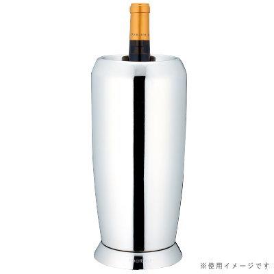 ワインクーラー ステンレス 二重構造 18-8ステンレス製ワインクーラー 中空2重構造 送料無料 業務用 家庭用 保冷 ワイン用品 ワイン シャンパン 収納 シャンパンクーラー 贈り物 ギフト プレゼント 父の日 母の日 祝い パーティー 2重 おしゃれ 高級感 シンプル