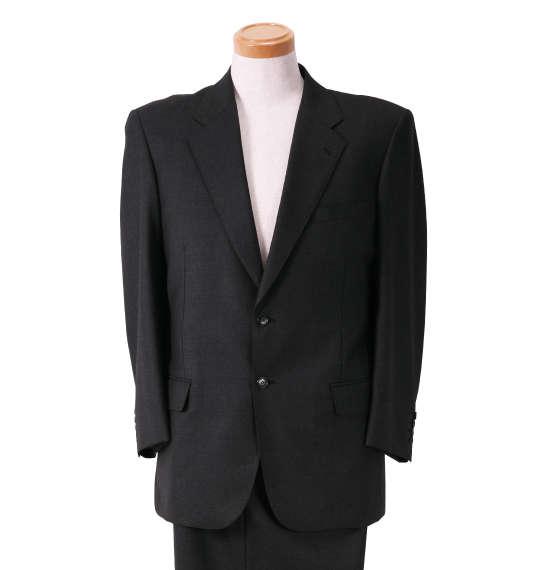 大きいサイズ メンズ DORMEUILシングル2ツ釦スーツ キングサイズ 3L/4L/5L/6L